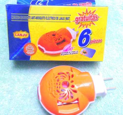 Plaquitas+emanador Repelente Para Mosquitos Y Zancudos Combo