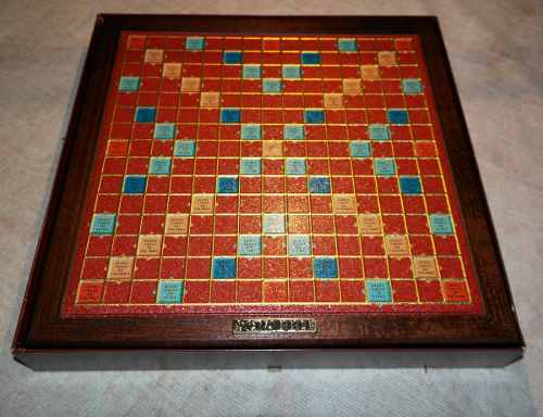 Scrabble Deluxe Original (juego De Mesa) Nuevo