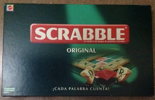 Scrabble Original De Mattel Juego De Mesa Original