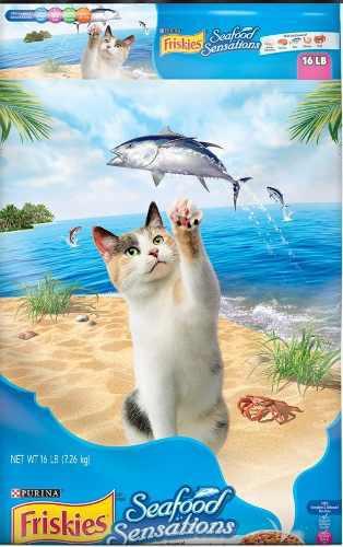 40gatarina Alimento P/gatos Friskies Seafood Sensations 7k