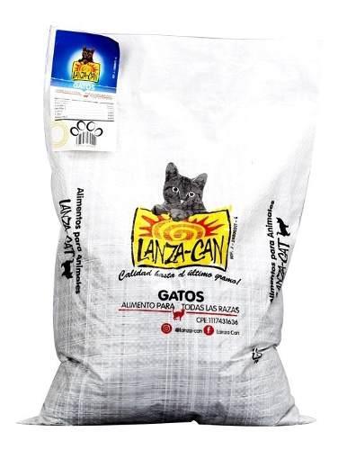 Alimento Para Gatos 5kg Lanza-can (7050002)