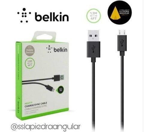 Cable Belkin Micro Usb Original Samsung Huawei Lg