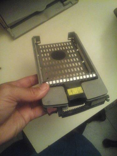 Caddy Para Servidor Dell Riel Bandeja Disco Duro 3.5