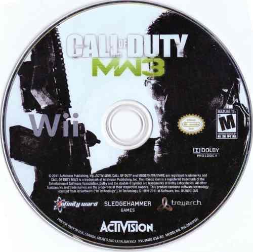Call Of Duty Mw3 Wii Juego Fisico Original
