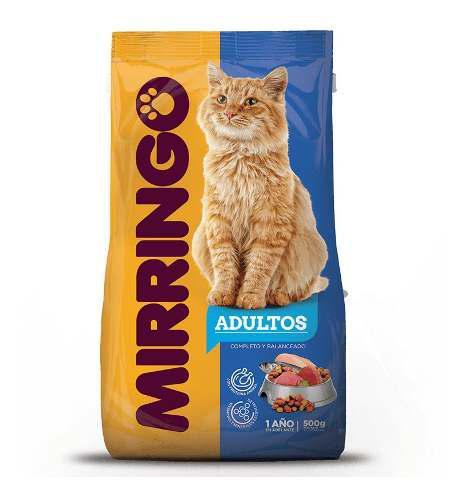 Comida Para Gatos Mirringo Importada