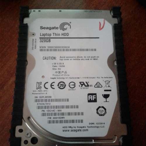Disco Duro Sata 320 Gb, Para Laptop O Pc 2.5