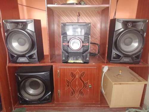 Equipo De Sonido Sony Genezi De 5100w