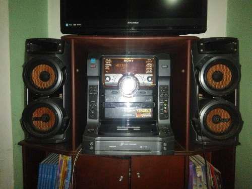 Equipo De Sonido Sony Lbt-zx6