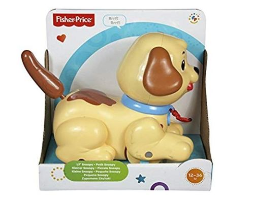 Fisher Price Brilliant Lil Snoopy