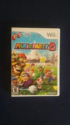 Juego Marioparty 8 Original Para Wii