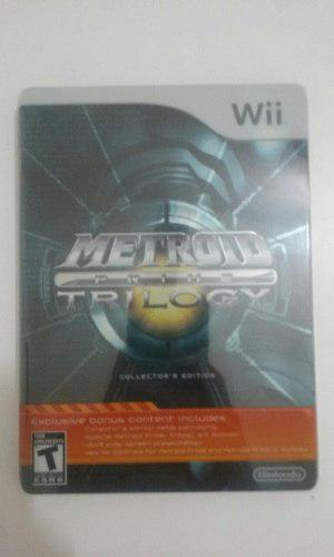 Metroid Prime Trilogy Edición Coleccionista