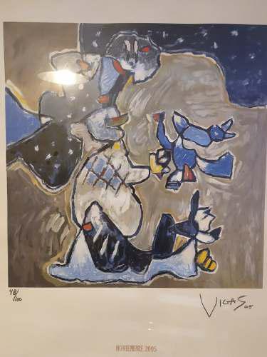 Serigrafia Oswaldo Vigas
