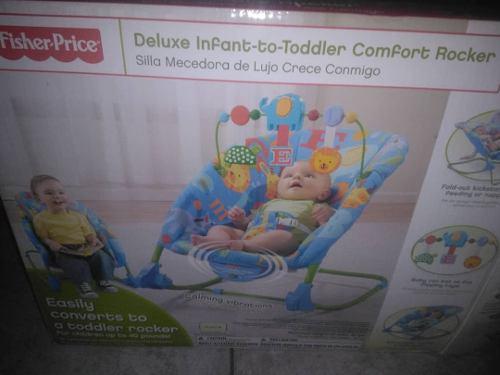 Silla Mesedora Para Bebé Fisher Price