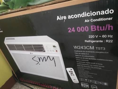 Aire Acondicionado De Ventana 24 Mil Btu Lg
