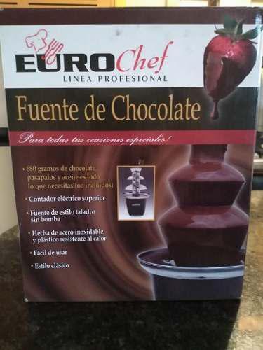 Eurochef Linea Profesional Fuente De Chocolate