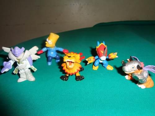Muñecos De Coleccion Digimon Y Otros 4 X 10 Mil