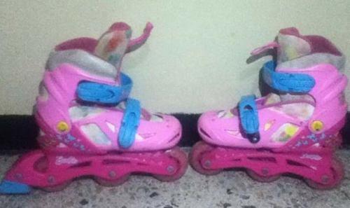 Patines En Linea Barbie Con Accesorios...