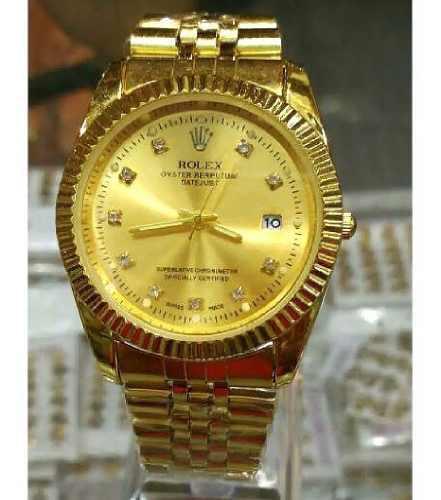Reloj Rolex De Acero Inoxidable Para Caballero