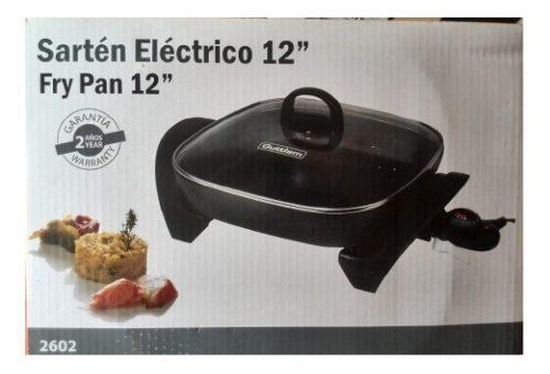 Sarten Electrico Marca Alemana Guttlem Antiadherente Nuevo