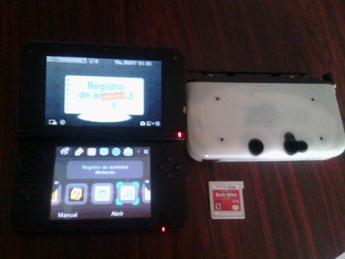 3ds Xl Usado, Memoria Externa 4gb Y Un Juego, Sin Cargador.