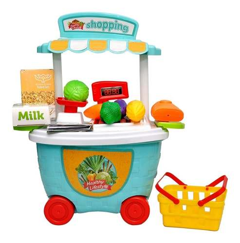 Caja Registradora De Juguete Para Niños Supermercado