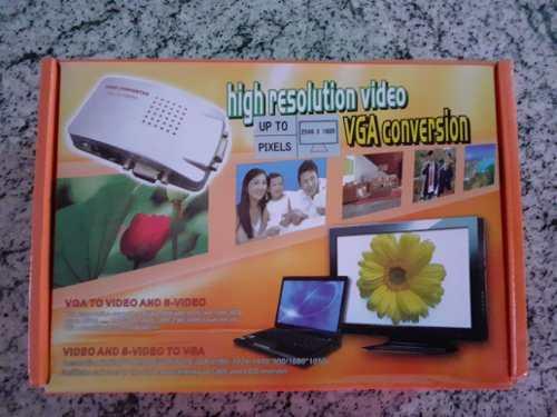 Convertidor De Video Vga A Rca Super Video, Pc A Tv Beam