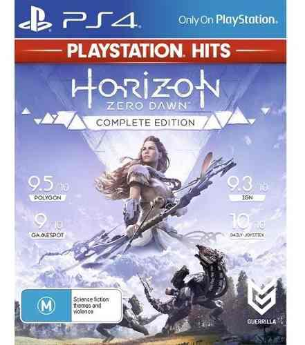 Horizon Zero Dawn Complete Ps4 Nuevo Sellado Fisico