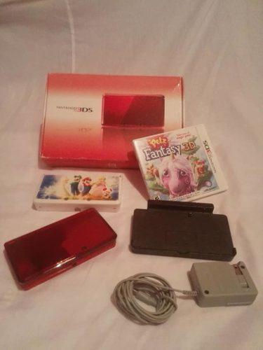 Nintendo 3ds Con Juego Original.