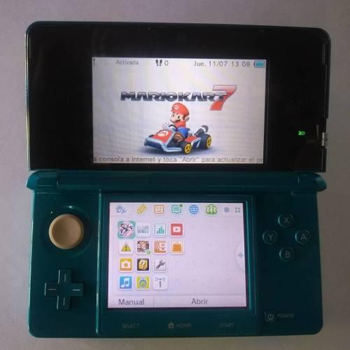 Nintendo 3ds Usado 100% Funcional + Mario Kart 7 3d Original