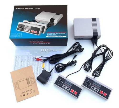 Nintendo Aniversario Mini 620 Juegos