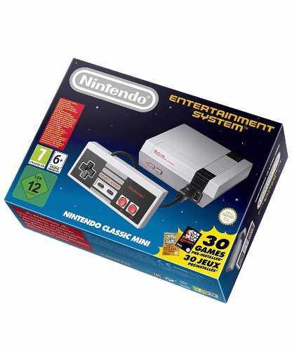 Nintendo Classic Mini Original Con 30 Juegos Precargamos