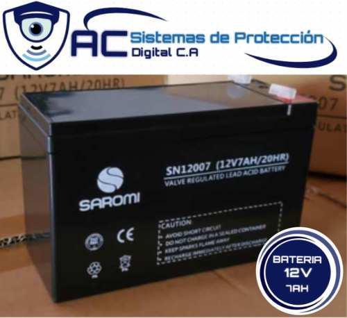 Pila Bateria 12v 7ah Para Ups Cerco Electrico Alarma Moto
