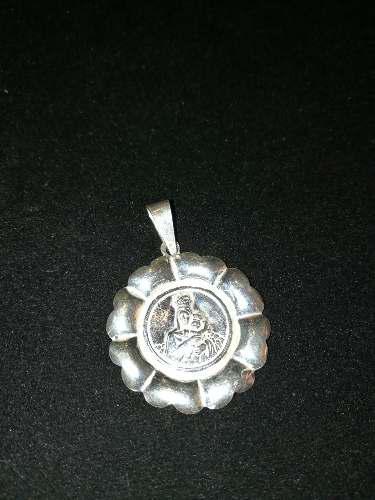 Sashenka Medalla Virgen Del Carmen 5.5 Gramos Plata 925