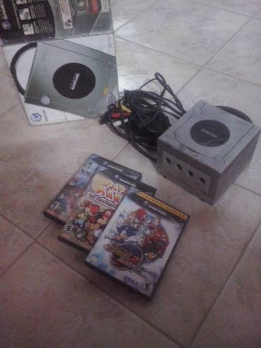 Consola Gamecube Con Dos Juegos