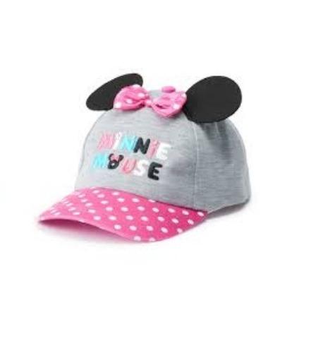 Gorra Minnie Mouse Con Accesorios De Niña