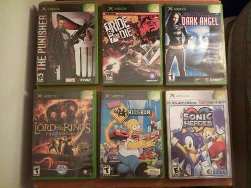 Juegos Para Xbox Clásico Originales