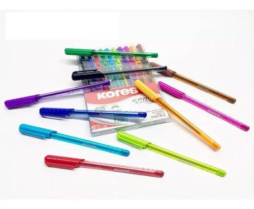 Lapiceros Bolígrafos Kores De Colores K-pen 10 Unid