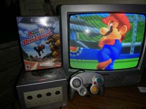 Nintendo Game Cube + Juego +control + Cables