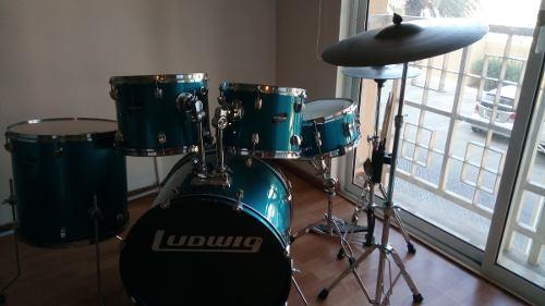 Oferta Batería Acústica Ludwig Original + Set Zildjian