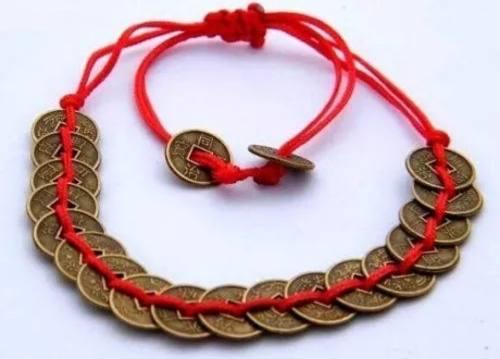 Pulsera Monedas Chinas Feng Shui Importadas Originales