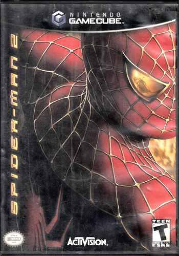 Spider-man 2 Video Juego De Gamecube Original Usado