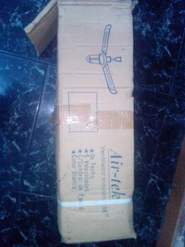 Ventilador De Techo Industrial Air - Tek