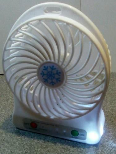Ventilador Portatil Recargable En Oferta