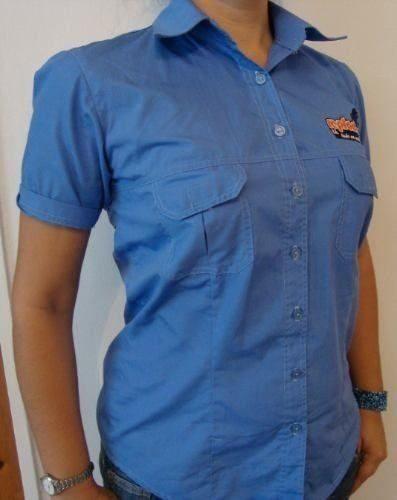 Camisa Tipo Columbia En Tela Dacron (somos Fabricantes)