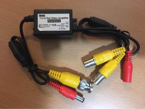 Duplicador De Señal De Video Camaras Cctv 2 Monitores