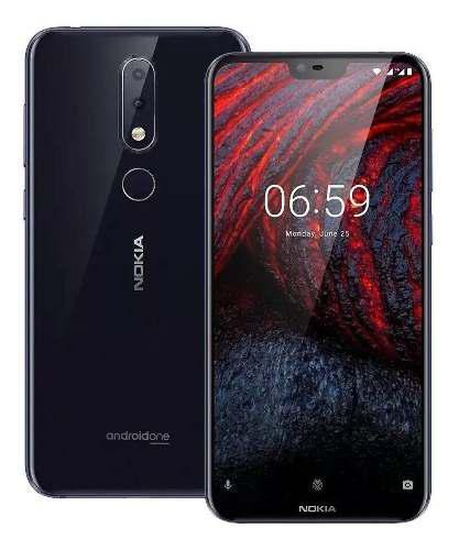 Nokia 6.1 Plus 6 Gbram Android 9 Vidrio Templado Y Protector