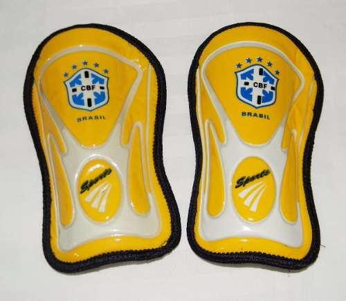 Protector Canillera Para Futbol Marca Yston Logo Paises L3o