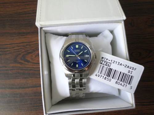 Reloj Casio De Caballero Acero Mtp-a