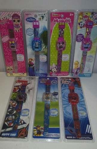 Reloj Digital Con Luces Para Niños Lol, Pony, Avengers
