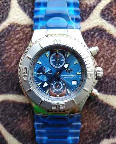 Reloj Technomarine Sport Tmy De 45mm Original.
